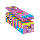 Post-it 76 x 76mm Neon Super Sticky Notes, Pack of 24 | 654-SS-VP24COL-E