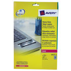Avery Silver 96 x 50.8mm Heavy Duty Laser Labels, Pack of 200 - L6012-20
