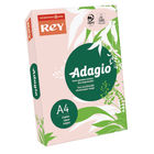Rey Adagio A4 Coloured Card, 160gsm, Pastel Pink - AP2116