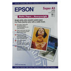 Epson Heavyweight White A3+ Matte Photo Paper, 167gsm - 50 Sheets - C13S041264