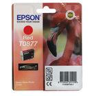 Epson T0877 Red Inkjet Cartridge C13T08774010 / T0877