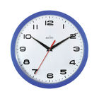 Acctim Aylesbury Blue Wall Clock - 92/308