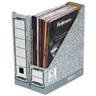 Fellowes R-Kive Bankers Box A4 Magazine File Grey/White - Pack of 10 - 01860