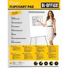 Bi-Office Plain A1 Flipchart Pads 40 Sheet (Pack of 5) FL010101