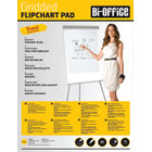 Bi-Office A1 Gridded Flipchart Pads, Pack of 5 - FL012301