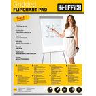 Bi-Office Gridded A1 Flipchart Pad 40 Sheet (Pack of 5) FL012301