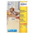 Avery Laser Mini Labels 189 per sheet White (Pack of 4725) L4731REV-25