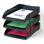 Avery DTR Eco Black Basic Letter Tray - DR100BLACK