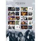 The Queen Album Cover Collectors Sheet