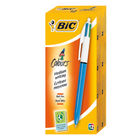 BIC 4 Colour Classic Ballpoint Pens, Pack of 12 - 801867