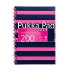 Pukka Pad Pink/Navy A5 Jotta Notepad - 6676-NVY