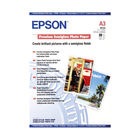 Epson Premium White A3 Semi-Gloss Photo Paper, 251gsm - 20 Sheets - C13S041334