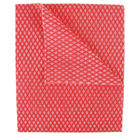 2Work Economy Cloths, Red (Pack of 50) 420 x 350mm – CCRC42BDI