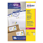 Avery White QuickPEEL Laser Address Labels 63.5x 72mm (Pack of 1200) - L7164-100