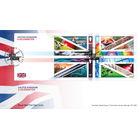 United Kingdom Celebration Souvenir Stamp Cover
