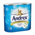 Andrex Classic White Toilet Rolls (Pack of 24) 4480115
