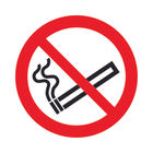 No Smoking (50 x 50mm) Safety Sign - PH04739S