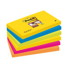 Post-it 76 x 127mm Rio Super Sticky Notes, Pack of 6   655-6SS-RIO-EU