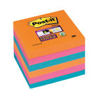 Super Sticky 76 x 76mm Post-it Bangkok Notes, Pack of 6 - 654-6SS-EG