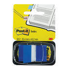 Post-it  Blue Index Tabs , Pack of 600 - 3M06261