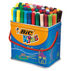 Bic Kids Visa Assorted Colours Felt Tip Pens (Pack of 84) - 829013