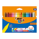 Bic Plastidecor Crayons Assorted (Pack of 24) 829772
