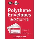 Postpak 460 x 430mm Polythene Envelopes, Pack of 20 - 101-3484