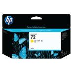 HP 72 Yellow Ink Cartridge 130ml   C9373A