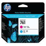 HP 761 DesignJet Magenta and Cyan Printheads | CH646A