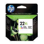 HP 22XL Tri Colour Inkjet Cartridge High Capacity   C9352CE