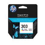 HP 303 Tri-Colour Ink Cartridge   T6N01AE