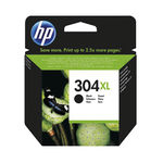 HP 304XL High Capacity Black Ink Cartridge | N9K08AE