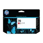 HP 70 Red Inkjet Cartridge 130ml   C9456A
