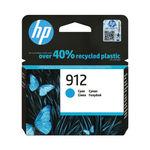 HP 912 Ink Cartridge Cyan 2.93ml 3YL77AE