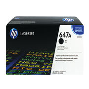 Image of HP 647A Black Laserjet Toner Cartridge | CE260A