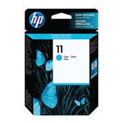 Image of HP 11 Cyan Inkjet Cartridge 28ml | C4836AE