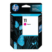 Image of HP 11 Magenta Inkjet Cartridge 28ml | C4837AE