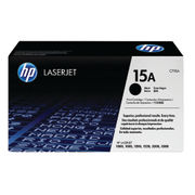 Image of HP 15A Black LaserJet Toner Cartridge | C7115A