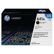 Image of HP 641A Black LaserJet Toner Cartridge | C9720A