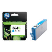 Image of HP 364XL High Capacity Cyan Ink Cartridge | CB323EE