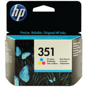 Image of HP 351 Tri-Colour Ink Cartridge| CB337EE