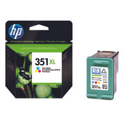 Image of HP 351XL High Capacity Tri-Colour Ink Cartridge | CB338EE