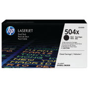 Image of HP 504X Black Laserjet Toner Dual Pack | CE250XD