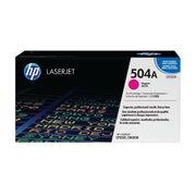 Image of HP 504A Magenta LaserJet Toner Cartridge | CE253A