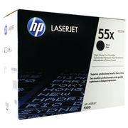 Image of HP 55X Black Laserjet Toner Cartridge High Capacity | CE255X