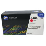 Image of HP 648A Magenta Laserjet Toner Cartridge | CE263A