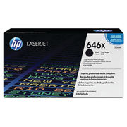 Image of HP 646X Black LaserJet Toner Cartridge High Capacity | CE264X