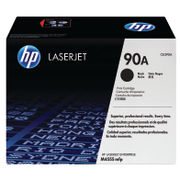 Image of HP 90A Black Laserjet Toner Cartridge | CE390A