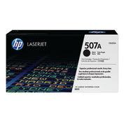 Image of HP 507A Black LaserJet Toner Cartridge | CE400A