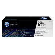 Image of HP 305A Black LaserJet Toner Cartridge | CE410A